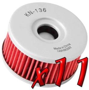 11 Pack: Oil Filters