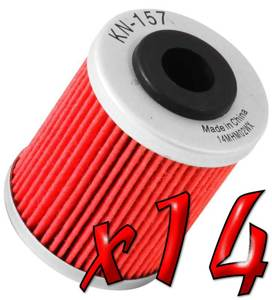14 Pack: Oil Filters
