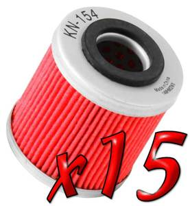 15 Pack: Oil Filters