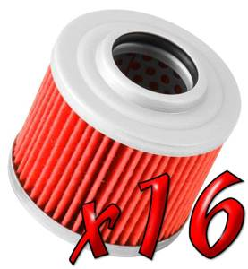 16 Pack: Oil Filters