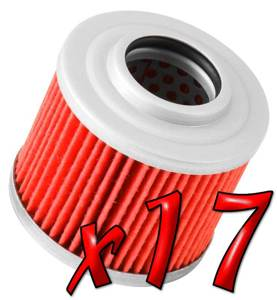 17 Pack: Oil Filters