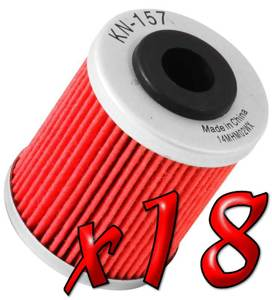 18 Pack: Oil Filters