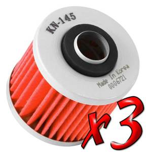 3 Pack: Oil Filters