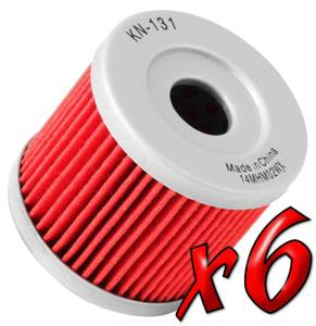 6 Pack: Oil Filters