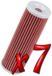 7 Pack: Oil Filters