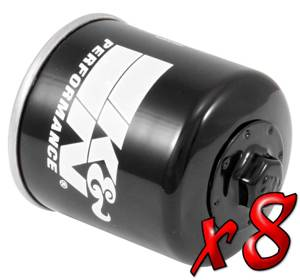 8 Pack: Oil Filters