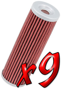 9 Pack: Oil Filters