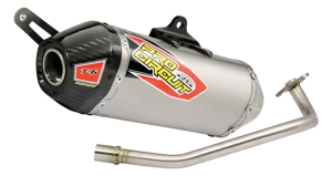 T-6 Aluminum & Stainless Steel Full Exhaust - 03-17 NPS50 Ruckus