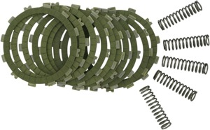 SRC Clutch Kit - Aramid Fiber Friction Plates & Springs - no steels