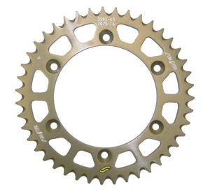 Works Triplestar Aluminum Rear Sprocket 43T - For 83-20 Yam Hon