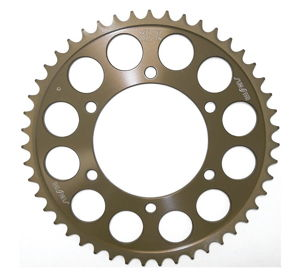 Works Triplestar Aluminum Rear Sprocket 46T - For 98-13 Suz Yam