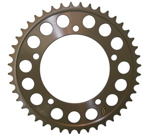 Works Triplestar Aluminum Rear Sprocket 45T - For 00-12 Suzuki