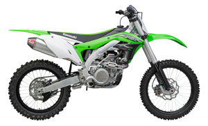 RS4 Signature Aluminum Slip On Exhaust - 16-17 Kawasaki KX450F