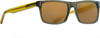 Blindside Sunglasses Shiny Khaki W/Golden Lens