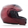 MD-04 Modular Solid Street Helmet Wine Red Large