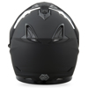 GM-11S Dual-Sport Snow Helmet Matte Blk W/Electric Shield 2X