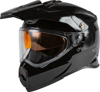 Youth AT-21S Adventure Snow Helmet Black Youth Large