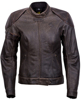 Catalina Womens Leather Jacket Brown Xs