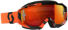 Hustle Goggle Black/Orange w/Orange Chrome Lens
