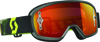 Youth Buzz Goggle Grey/Fluorescent Yellow w/Orange Chrome Lens
