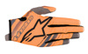 Youth Radar Flight Gloves Orange/Black Youth 2X-Small