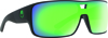 Hex Sunglasses Matte Black/Green Ion