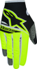 Youth Radar Flight Gloves Black/Yellow Y-3X-Small