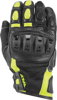 Brawler Riding Gloves Black/Hi-Vis 2XL
