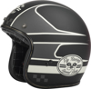 .38 Wrench Motorcycle Helmet Black/Vintage White Small