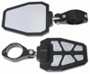 "Side Mirror Black PR 2.0"" Recut Pockets"