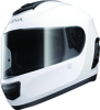 Momentum Full Face White M Bluetooth Helmet