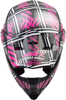 Mx-46 Off-Road Pink Ribbon Riders Helmet Black/Pink Xs
