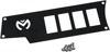 Dashplate Left Black 4Switch Small - For 15-19 Polaris RZR 900/1000