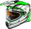 AT-21S Adventure Epic Snow Helmet Green/White/Black 2X-Large