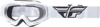Focus Youth Goggle White W/ Clear Lens