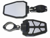 "Side Mirror Black Bezel PR 1.75"" Recut Pockets"