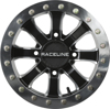 Mamba Beadlock Wheel Black Machined 4X156 14X8 4+4