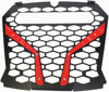 "Front Grill Red for 10"" Light - For 18-19 Polaris RZR XP"