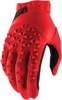 Airmatic Gloves - Red Short Cuff Youth Large