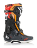 Tech 10 Boots Black/Grey/Orange/Fluorescent Red US 10