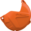 Clutch Cover Protector Orange - For 09-16 KTM 125/150/200