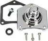Supertorque Starter Button Chrome - For 89-93 Harley Touring Softail