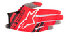 Youth Radar Flight Gloves Red/Black Youth 2X-Small