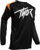 Youth Sector Link Jersey - Black/Orange Y-2X-Small