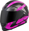 Exo-T510 Full-Face Fury Helmet Black/Pink Xs