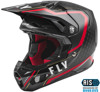 Youth Formula Carbon Axon Motorcycle Helmet Black / Red / Khaki Youth Large