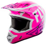 Kinetic Burnish Motorcycle Helmet Pink/White/Purple X-Small
