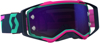 Prospect Goggle Teal/Pink W/Purple Chrome Lens