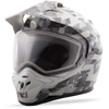 DSG GM-11S Checked Out Helmet White/Grey Small