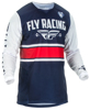 Kinetic Mesh ERA Jersey Navy/White/Red Youth X-Large